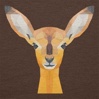 Texlab–Poly Oh My Deer–sacchetto di stoffa Marrone