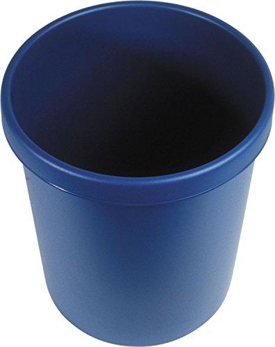 """Helit H6106134 - Papierkorb """"the german"""" 30L, blau"""