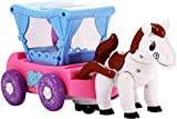 #9: Babytintin™ Bump and Go Musical Flash Horse Carriage With 4D Light And Sound Toy For Kids