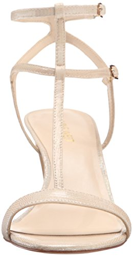 Nine West Dacey Metallic Absatzsandale Light Gold
