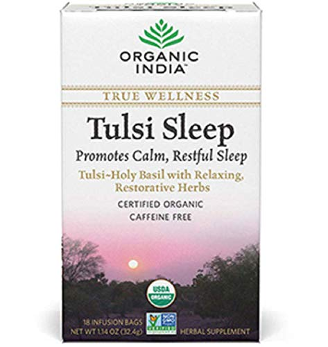 Organic India Tulsi Wellness Sleep Tea, 18 Tea bags