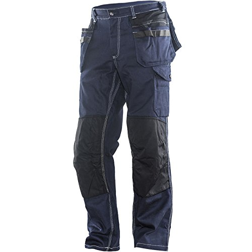 Jobman Handwerker Hose, 1 Stück, D108, marine blau/schwarz, 2200136799-D108