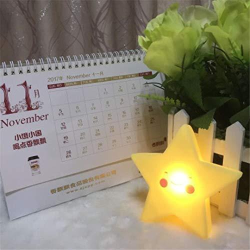 Nachtlicht Cartoon Cloud Nachtlicht Mond Nachtlicht Yellow Star Kinder Schlafzimmer Sleeping Sun Nachtlicht (Star Industries Sun)