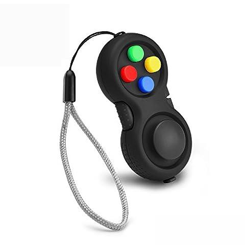 The Original Fidget Retro: The Rubberized Classic Controller Game Pad