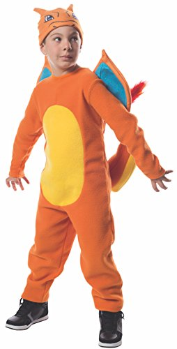 Rubie's Costume Pokemon Charizard Costume, Large by Rubie's Costume Co