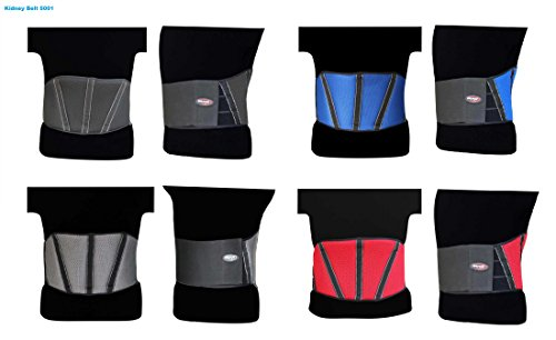 Atmungsaktives Neopren Nierengurt maxfive 5001Kompression Taille Trimmer Gürtel unteren Rücken Lendenwirbelstütze, verstellbar Schweiß Enhancer Gewichtsabnahme ab Wrap für Männer Frauen (Leder-nierengurt)