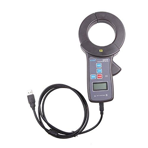 Voltage Clamp Current Meter Clamp Amperemeter DC/AC Strommessbereich DC 0,0A bis 2000A, AC 0,0A bis 1500A, Backengröße Durchmesser 68mm Mit USB-Schnittstelle Daten-Upload-Funktion Datenspeicherung 9 Ac Current Clamp Meter