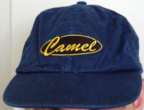 Vintage Joe Camel Bb Cap Mütze blau mit ovalem Logo Vintage Camel