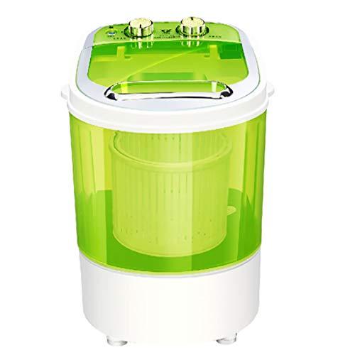 PIGE Mini Waschmaschine, Tragbare Waschmaschine Für Kinder 4KG Waschkapazität Kompakte Langlebige Design Abnehmbare Drain Korb Geeignet Für Reisen Wohnung Schlafsaal Car Home