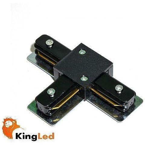 KingLed - Innesto per Binario Monofase Elettrificato,