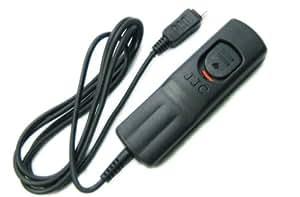Déclencheur souple, télécommande filaire pour OLYMPUS SP-510 UZ SP-550 UZ SP-560 UZ SP-565 UZ SP-570 UZ SP-590 UZ E400 E410 E420 E450 E510 E520 E600 E620 E30 E-P1 E-P2 E-PL2 XZ-1 équivalent OLYMPUS RM-UC1