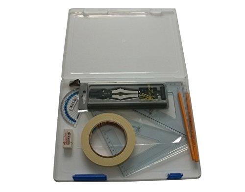 SG Bildung Kit SF Bud 3Technische Grafiken Kit, Budget bieten inkl. Holzbox mit Klebeband -