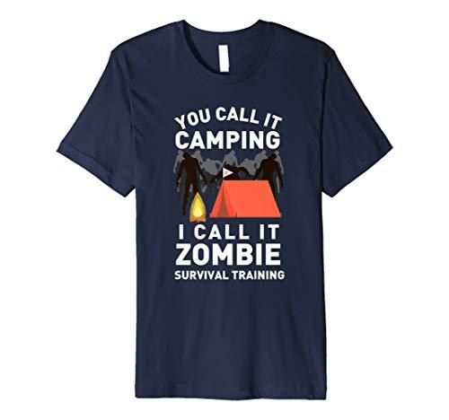 Sie nennen es Camping Zombie Survival Training T-Shirt