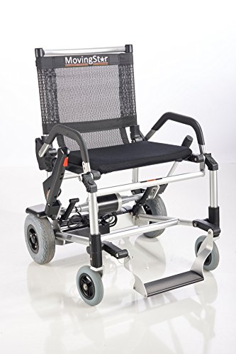 Zinger by MovingStar Sitzscooter Leichtgewicht-Chair klappbar (Schwarz)