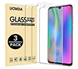 UCMDA Verre Trempé Honor 10 Lite/Huawei P Smart 2019, [Lot de 3] 9H dureté Anti Rayures Résistant Glass Film Protection en Verre Trempé Protecteur écran [Cas-Amical] pour Honor 10 Lite/P Smart 2019