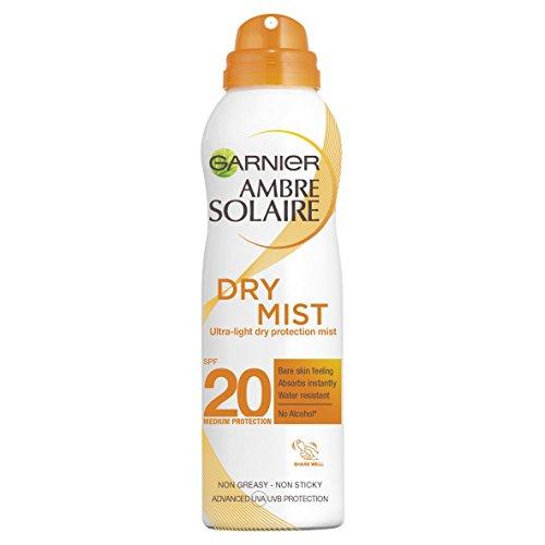 Ambre Solaire Dry Mist Sun Cream Spray SPF20 200ml