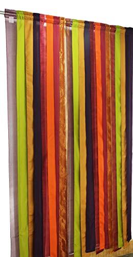 Baumwolle Craft-Baumwolle Tissue Rod Pocket Fenster Elementen-Ein Paar-Multi Farbe 54x 84. Handgefertigt & Hand genäht-großzügiger 15,2cm Saum-Wirklich anspruchsvolles Luxus -