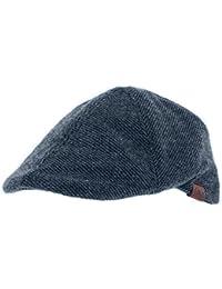 Men's Wilbur Tweed Duckbill Peak Flat Cap