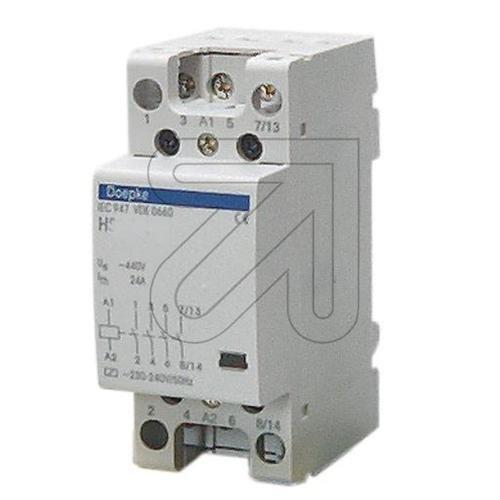 Doepke Schütz HS 20-40 230V/50HZ 4 Schließer Installationsschütz für Reiheneinbau 4014712067288 -