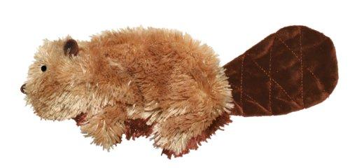 Artikelbild: Kong Dr Noys Material Biber Hund Quietsche Spielzeug Keine Messy Füllung Große (Nq1)