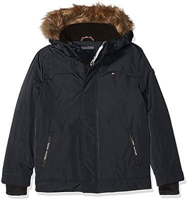 Tommy Hilfiger Thkb Shiny Lined Hd Jacket, Chaqueta para Niños