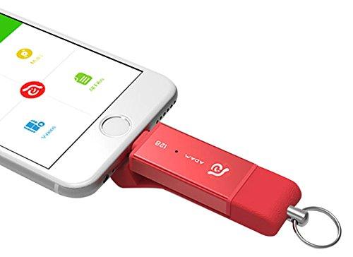 ADAM elements Iklips Duo, USB-Stick, Oro, 128Gb