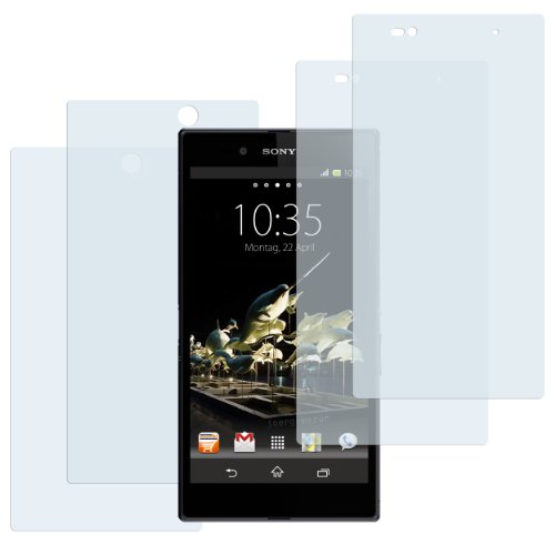 mumbi Schutzfolie kompatibel mit Sony Xperia Z Ultra Folie klar, Bildschirmschutzfolie (2x)