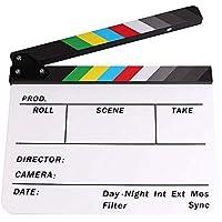 Tablero de la chapaleta - para televisión película, Película Tablero de registro, Palabras de talla de acrílico con imán Tablero de película Prom-note