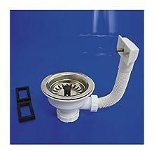 Wolfpack 4110610 Valvula Sink T-72 -115 1 1/2 Basket Honda
