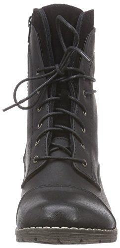 Rieker 92501, Bottines avec doublure intérieure femme Noir (Schwarz/schwarz)