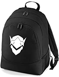 Embroidered Overwatch Genji gamers rucksack backpack PS4 XBOX