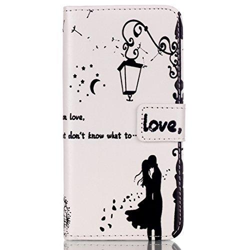 "iPhone 6 Plus/6S Plus (5.5"") Hülle im Bookstyle, Xf-fly® PU Leder Flip Wallet Case Cover Schutzhülle für Apple iPhone 6 Plus/6S Plus (5.5 Zoll) Tasche Handytasche Schutz Etui Schale Handyhülle P-8"