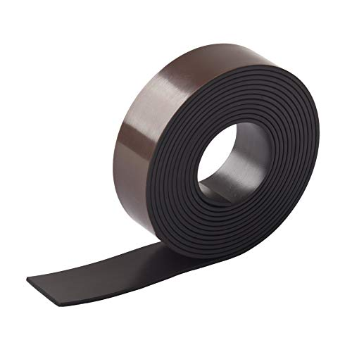 LouMaxx Magnetband selbstklebend magnetisches Klebeband Magnetklebestreifen Magnetklebeband (2m x 20mm x 1,5mm)