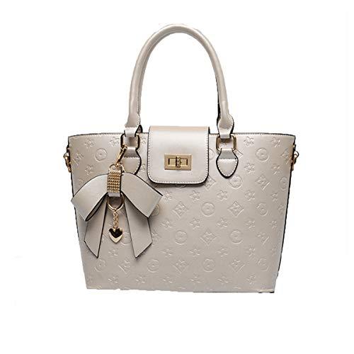 Neue frauen handtaschen lackleder umhängetasche hochwertige diagonale tasche mode lässig tasche exquisite anhänger tasche bequeme windel