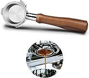 Coffee Bottomless Portafilter 51mm for Delonghi EC680/EC685 Filter 51mm, Three Ear Delonghi 2 Cups Portafilter