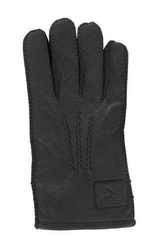 Bradford Leder (Pia Rossini Herren Handschuhe Bradford, Gr. X-Large, Schwarz)