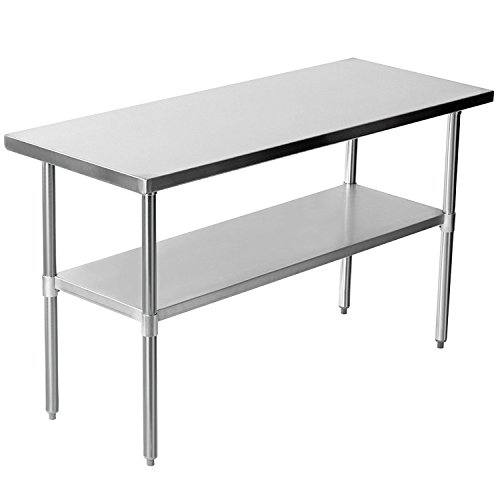 Quattro Value Line 1500mm Wide Stainless Steel Catering Centre Bench Test