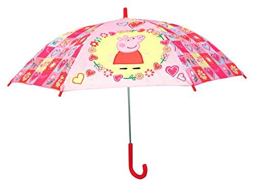 Peppa pig 4717 - ombrello automatico per bambina