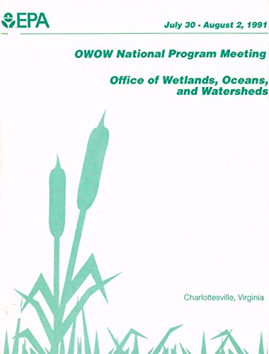 OWOW FY92 National Program Meeting : July 30-August 21991 Charlottesville Virginia (English Edition)