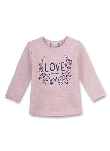 Sanetta Baby-Mädchen Sweatshirt 114023, Rosa (Vintage Rose 3897), 86 (Baby Sweatshirts Mädchen)