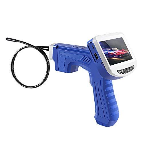 WOGQX 8Mm Industrielle Endoskop Spiegel, 4,3 Zoll Display Inspektionskamera Endoskop 6LED Lampe IP68 Wasserdicht Endoskop Schlange Rohr Kamera (9,84 Fuß)