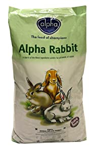 Alpha Rabbit Food Herbal Deluxe 125kg by Alpha