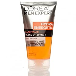 Loreal Men Expert Hydra Energetic Ice Cool Face Wash 150ml with Ayur Product in Combo