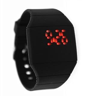 Magic Hidden Red LED Watch (Black)