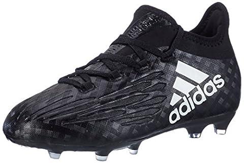 adidas Kinder Unisex X 16.1 FG J Fußballschuhe, Schwarz (Core