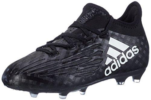 adidas X 16.1 Fg J, Scarpe da Calcio Unisex – Bambini Nero (C Black/ftw White/c Black)