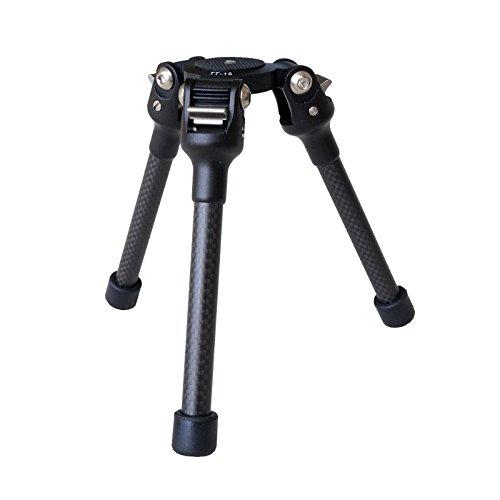 FEISOL Mini Stativ TT-15 Mark - Schwarz (Point And Shoot-kamera Mit Gurt)