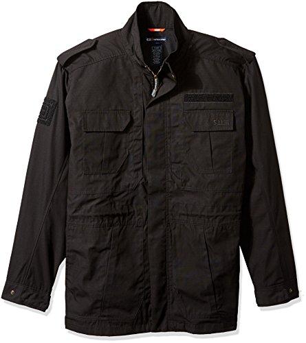 5.11 Tactical Series Taclite M-65 Veste Polyvalente Homme, Noir, FR : L (Taille Fabricant : L)