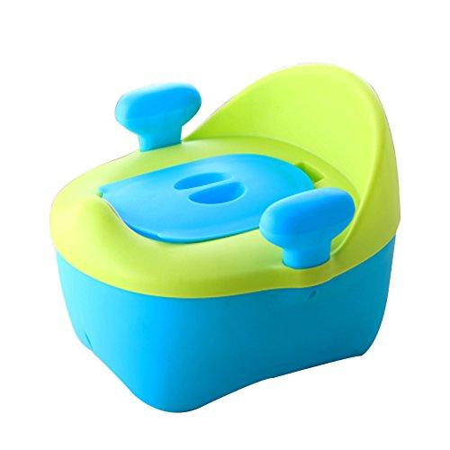 Enfants Toilette- Toilettes pour Enfants pour Garçons Et Filles pour Bébé 5-6 Ans Toilette pour Enfant Siège De Bleu PP