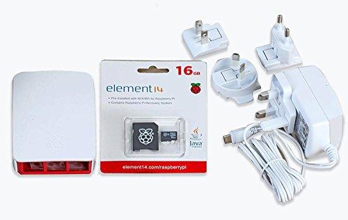 Raspberry Pi 3Offizielles Zubehör Kit (weiß)